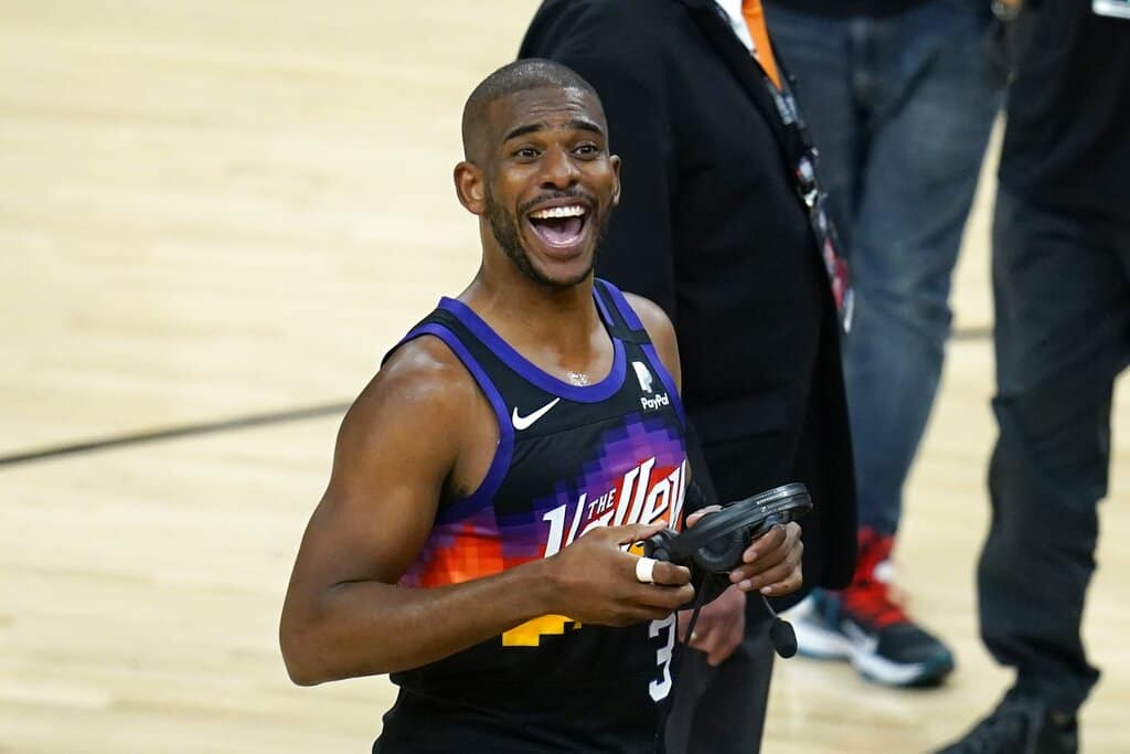 Awesemo's expert NBA player props best picks, odds and predictions for Chris Paul and Game 5 NBA Finals Bucks vs. Suns tonight, July 17.
