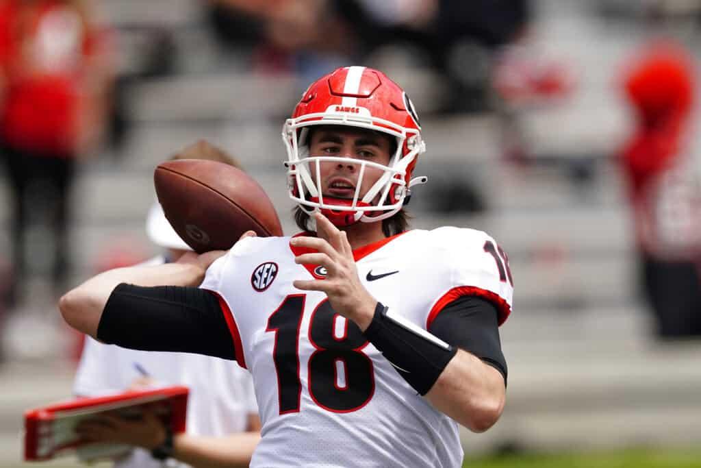 Free expert college football betting picks best bets odds NCAAF picks Georgia Oklahoma Alabama USC