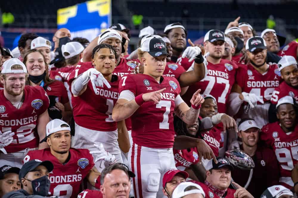 Best College football bets picks odds NCAAF Heisman Specner Rattler Oklahoma free expert picks predictions lines 2021