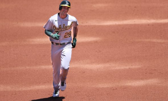 The best free expert MLB bets today with Las Vegas betting odds and picks like Matt Olson to hit a home run +490 on Wednesday, Sept. 8, 2021.