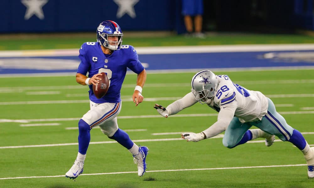 The Awesemo NFL Player Props Tool provides our best bets and odds for Thursday Night Football Giants vs. Football Team   Daniel Jones & More