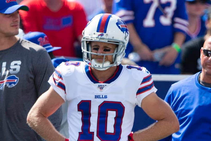 The Awesemo NFL Player Props Tool provides our best bets and odds for Week 5 Sunday Night Football Bills vs. Chiefs   Cole Beasley & More
