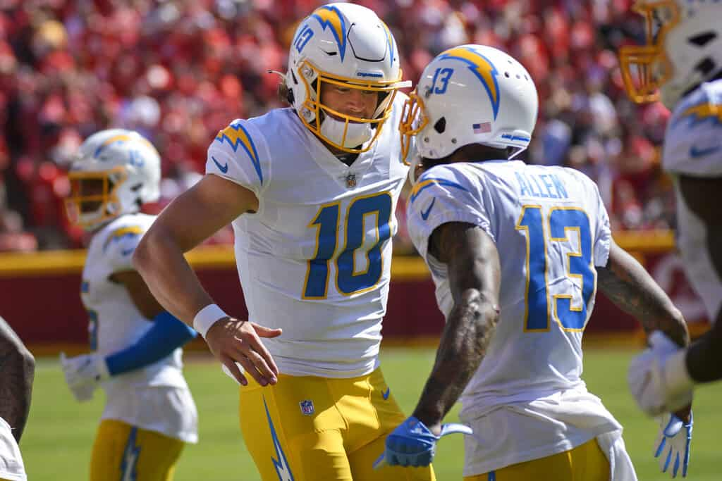 The Best FREE NFL betting advice and player props bets, picks and predictions for Week 5 gambling cards using expert ROI tools and data.