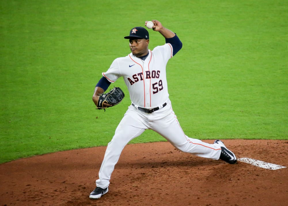 The best free expert MLB bets today with Las Vegas betting odds and player prop picks like Framber Valdez UNDER 5.5 strikeouts on Friday 10/1/21